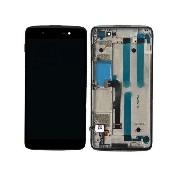 Display cu touchscreen si rama BlackBerry DTEK50, Neon, Idol 4, OT-6055, OT-6055H, OT-6055Y original