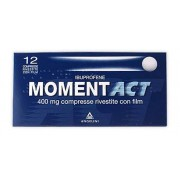Angelini Spa Momentact 12 Compresse Rivestite 400 Mg