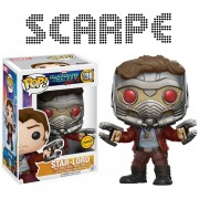 Funko Pop Star-lord Chase Exclusiva Guardians Of The Galaxy