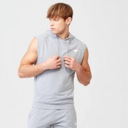 Myprotein Form Sleeveless Hoodie - XS - Grey Marl