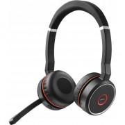 Casti Jabra Evolve 75 UC Stereo, Microfon, Negru