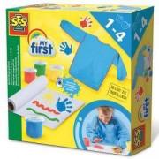 Детски комплект за рисуване с пръсти SES, 080955