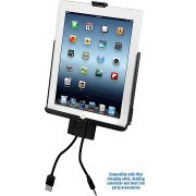 RAM EZ-ROLL'R Model Specific Sync Cradle for the Apple iPad 2 Without Case, Skin Or Sleeve