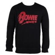 sweat-shirt sans capuche pour hommes David Bowie - NAME LOGO - AMPLIFIED - AV420DVL