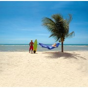 Amazonas Reishangmat Eénpersoons 'Travelset' Blue