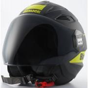 Blauer Bratt Jet Helmet Black Yellow M