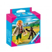 Playmobil Zoo with Keeper Gorilla Baby