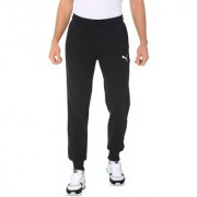 Puma Men's Black ESS Logo TR Track Pants