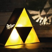 Nintendo Zelda Triforce Lampa