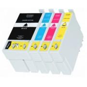 (4pack) EPSON T2715 multipack 27XL - kompatibilné náplne do tlačiarne Epson