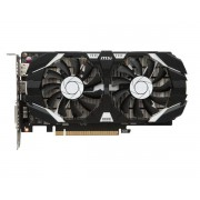 Видеокарта MSI GeForce GTX 1050 Ti 1341Mhz PCI-E 3.0 4096Mb 7008Mhz 128 bit DVI HDMI HDCP GTX 1050 TI 4GT OC V1
