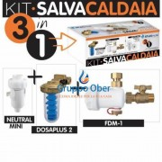 KIT ATLAS SALVA CALDAIA 3 IN 1 : DOSAPLUS 2 - FDM 1 - NEUTRAL MINI