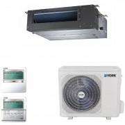 Aparat aer conditionat tip Duct York YEKE36BXEEBM-RX/YUKE36BYEEBMO-X DC Inverter 36000BTU Clasa A++