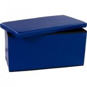 Skladacia lavica s úložným priestorom – modrá
