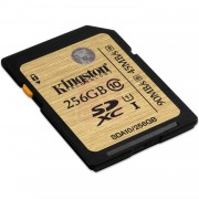 Kingston - Carte mémoire flash - 256 Go - UHS Class 1 / Class10 - 300x - SDXC