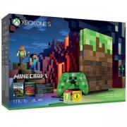 Конзола Xbox One S 1TB Konsole + Minecraft - Limited Edition Bundle