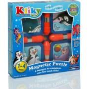 Kliky Puzzle Magnetic Animale Marine 4 bucati