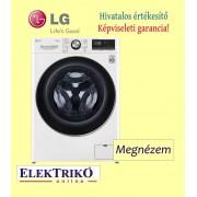 LG F4WV909P2 elöltöltős mosógép ,A+++ -50% energiaosztály , 9kg kapacitás, gőzmosógép, TurboWash 360