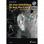 Schott Music Die neue Gehörbildung Rock 2 Tom van der Geld, Buch/CD-ROM