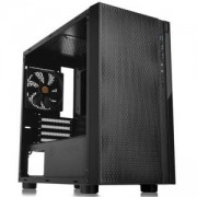 Кутия THERMALTAKE Versa H18 Window, Micro Tower, Черна, THER-CASE-CA-1J4-00S1WN-00