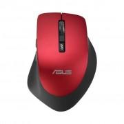 Asus WT425 rato USB Óptico 1600 DPI Vermelho