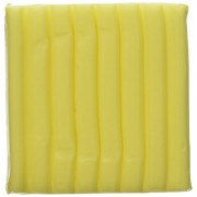 Fimo Soft Polymer Clay 2 Ounces-8020-104 Transparent Yellow