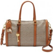 Fossil Women Multicolor Polyester Satchel