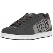 DC Men's Net SE Skateboarding Shoe, Grey Ash, 9 D US