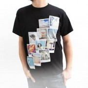 smartphoto T-shirt mörkblå L