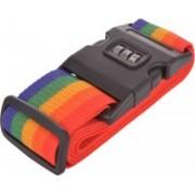EZ Life Rainbow Color Luggage Strap(Multicolor)