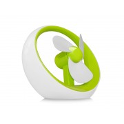 Wiatraczek pod USB lub na baterie Zielony - Zielony
