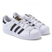 adidas Originals White Superstar Laced Trainers Barnskor 31 (12.5UK)