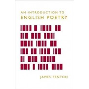 An Introduction to English Poetry, Paperback/James Fenton