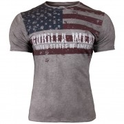 Gorilla Wear USA Flag Tee - L