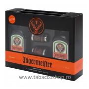 Lichior Jagermeister Twin Set 1.0L cu 2 pahare