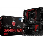 MSI Z170A GAMING M3 Intel Z170 LGA 1151 (Socket H4) ATX