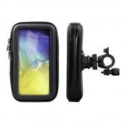 Shop4 - Samsung Galaxy S10e Fietshouder Stuur Spatwaterdicht Zwart