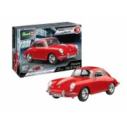 Revell Porsche 356 Coupe Easy-Click autó makett 7679