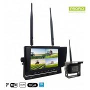 """Parkovací set Wifi - 1x kamera + 7"""" LCD monitor s nahráváním"""