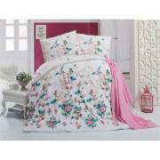 Lenjerie de pat Miss Mina Carmela Latte, pentru 2 persoane