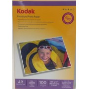 Hartie foto Kodak 10x15 lucioasa 180G 50 coli
