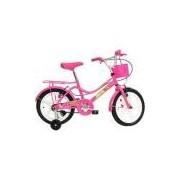 Bicicleta Feminina Monark Brisa Aro 16 Rosa