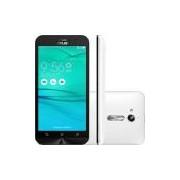 Smartphone Asus Zenfone Go Dual Chip Android 5.1 Tela 5 8GB 3G Câmera 8MP - Branco