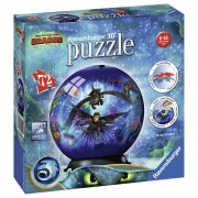 PUZZLE 3D DRAGONS III, 72 PIESE - RAVENSBURGER (RVS3D11144)