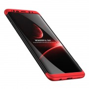 Husa Samsung S9 Plus GKK Full Cover 360 - Negru/Rosu