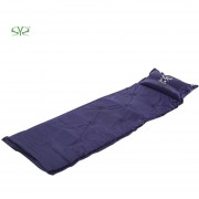 Almohadilla Para Dormir Inflatable Picnic Camping Mat Sleeping Pad With Pillow
