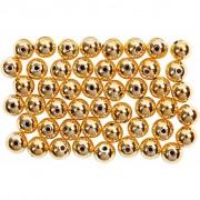 Creativ Company Vaxpärlor, dia. 5 mm, hålstl. 0,7 mm, 100 st., guld