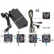 Adaptateur secteur disc dur 12 V 3A 5V 3A dc avec connecteur 4pins mini DIN