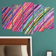Декоративен панел за стена с многоцветен арт принт Vivid Home