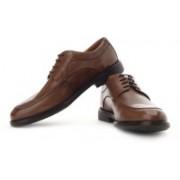 Clarks Dresslite Suit Genuine Leather Lace Up Shoes For Men(Brown)